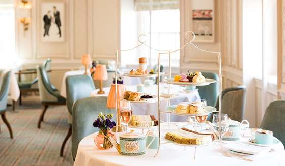 Top 10 Places for Afternoon Tea in London - Bernina Express