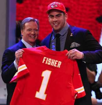 Chiefs Pick Offensive Tackle Eric Fisher as Top Pick in 2013 NFL Draft