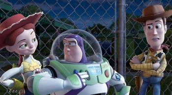 Tom Hanks & Tim Allen in the movie Toy Story 3