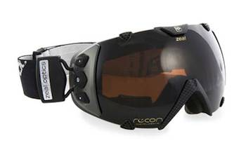 GPS Ski goggles - Ski eyewear is no longer just about protecting the eyes and looking good. The Transcend goggles from Zeal Optics will fill eyes with a wealth of action data using GPS and other sensors. The goggles offer data on speed, altitude, distance traveled vertically, stopwatch timing, temperature, and location. And they look good.