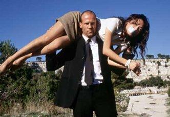 Jason Statham stars as Harvey Transporter 3 in the film Transporter 3