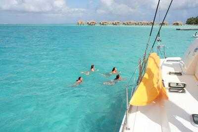 Taking the Kids - Sailing Around the Tahitian Islands