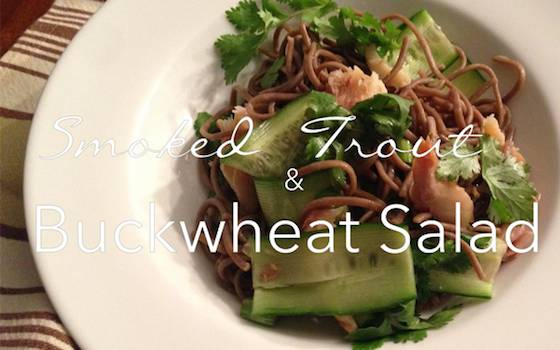 Trout and Buckwheat Salad Recipe