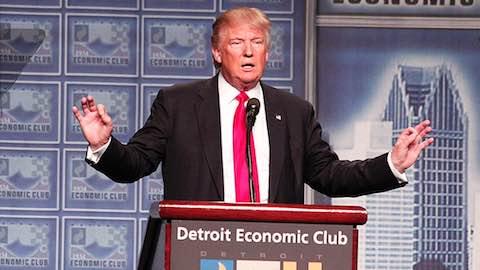 Trump Unveils Economic Policy