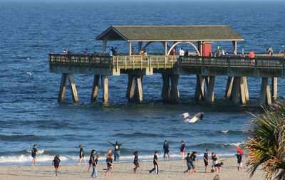 Tybee Island, Georgia - once named Savannah Beach, is a popular getaway for Savannah residents.