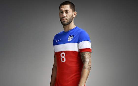 USA Soccer Unveils Away Jerseys for The World Cup | Soccer