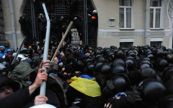 Next Step in Ukraine Crisis is Unknown
