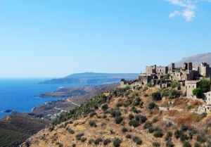 In a far-off corner of the Peloponnese, clan wars left the hill town of Vathia in ruins.