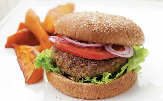 Vegan Lentil Burgers Recipe