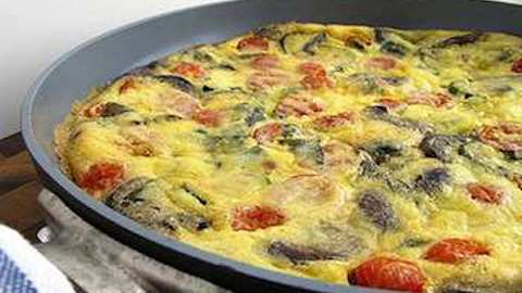 Vegetable Frittata  Recipe