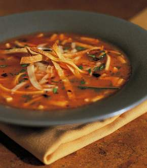 Vegetable Tortilla Soup