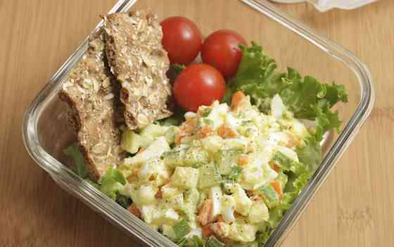 Veggie Egg Salad Recipe