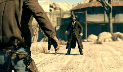 Italian and Japanese influences helped revitalize the film Western. Now, as the genre lays fallow on game consoles, Polish development team Techland is trying to bring the Wild West back to life. Its resuscitation plan is ripped not so much from the Western canon, but from Quentin Tarantino -- as Call of Juarez: Bound in Blood tries to inject a load of adrenaline into the stagnant genre