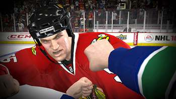 NHL 10 has first-person fighting this year. Here are half-a-dozen games that should consider including pugilism
