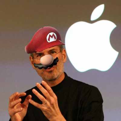 The Apple Gaming Console: An Idea So Crazy It Just Might Work, MaybeCaptionAfter years on the sideline, Apple may finally be taking serious interest in games again. And why not? The iPhone has been making loads of money, and a lot of that money comes from downloadable games.