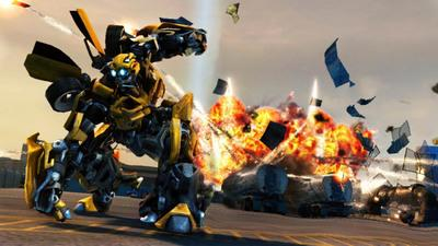 Video Game Review: 'Transformers: Revenge of the Fallen'. Revenge of the Fallen isn't an entirely terrible game. But as Crispy Gamer's Evan Narcisse played it, he kept feeling you can get this stuff � driving, combat, large-scale giant robot mayhem � done better elsewhere.