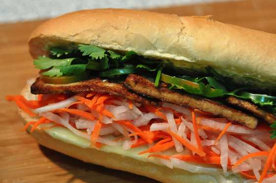 Banh Mi Sandwich with Lemongrass Tofu Recipe