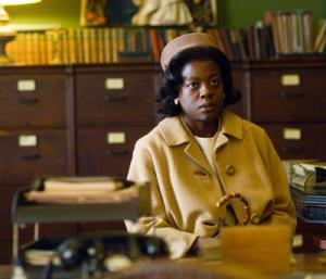 Best Supporting Actress Oscar Academy Award Nomination Viola Davis as Mrs. Miller in the movie Doubt
