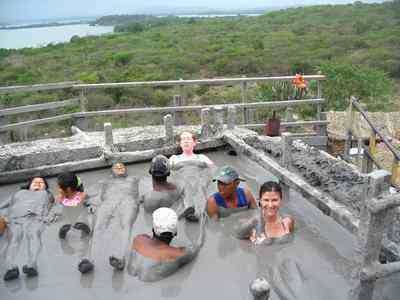 volcanic mud of El Totumo