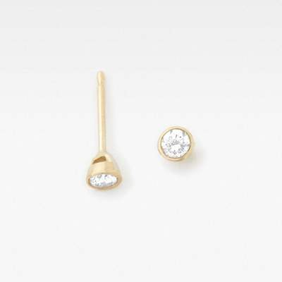 Vrai & Oro Solitaire Diamond Earrings