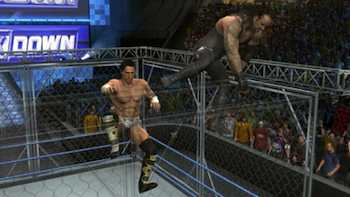 While the gameplay has been refined in 'WWE SmackDown vs. Raw 2010,' some technical problems still break the natural flow of the game. Clipping issues remain a problem, as well as collision detection
