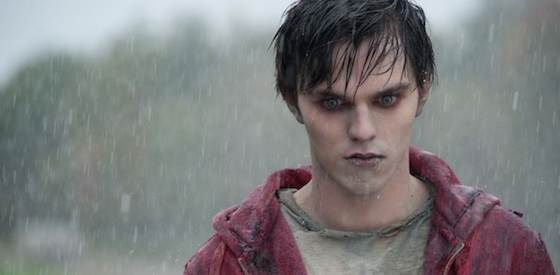 Nicholas Hoult and Teresa Palmer  in 'Warm Bodies'