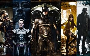 Watchmen movie review and movie trailer