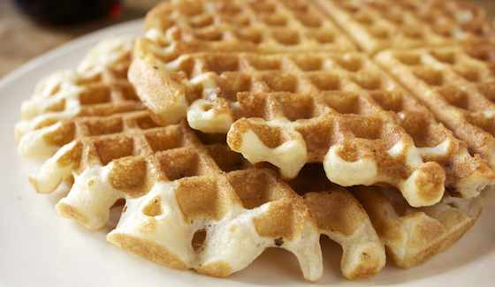 Weekend Breakfast Recipe: Crunchy Pecan Waffles