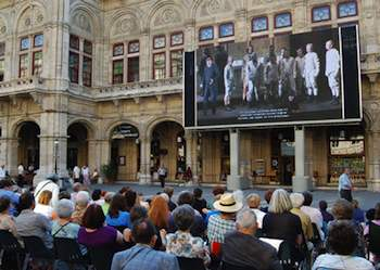 Vienna's Opera offers live broadcasts of its performances for free throughout the months of May, June, September, and October