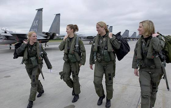Woman to Woman: Woman's Place Is at the Pentagon