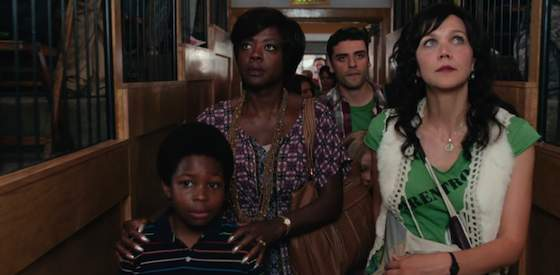 Viola Davis and Maggie Gyllenhaal  in Won't Back Down