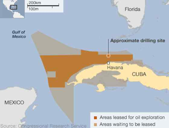 Oil Exploration in Cuban Waters