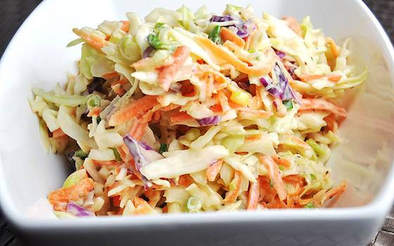 World's Best Creamy Coleslaw Recipe