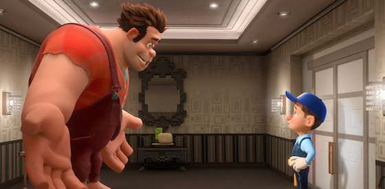 John C. Reilly and Sarah Silverman  in Wreck-It Ralph