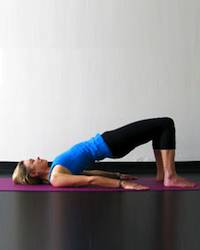 Yoga Stretches: Bridge