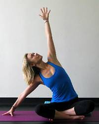 Yoga Stretches: Extended Side Easy Pose