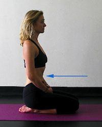 Yoga Stretches: Skull Brightener Breath