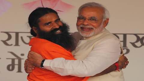 Yoga Tycoon Rises with Modi