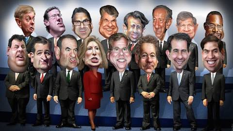 Your Guide to the 2016 GOP Candidates