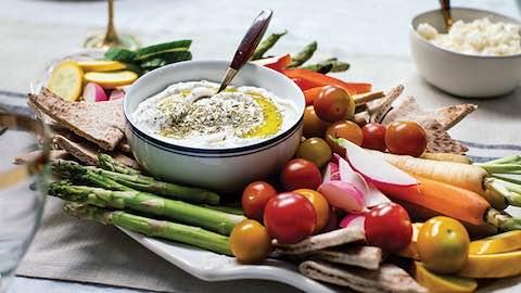 Za'atar Labneh Dip Recipe