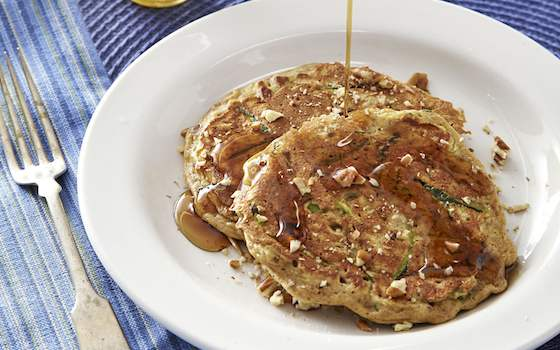 Zucchini Bread Breakfast Pancakes Recipe