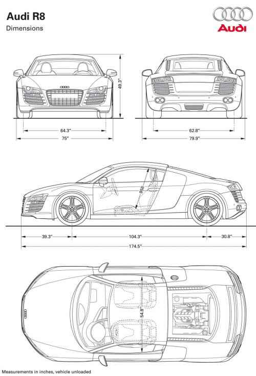 pursual Image Standard Vehicle Dimensions on bmw dimensions in feet