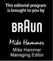 This editorial content is brought to you by Braun