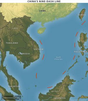 China's Nine Dash Line