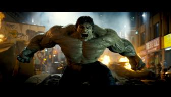 The Incredible Hulk The unbridled force of rage known as The Hulk on the streets of New York in an all-new explosive and action-packed epic of one of the most popular Super Heroes of all time THE INCREDIBLE HULK Photo Credit Rhythm and Hues Copyright 2008 Universal Studios and Marvel Studios ALL RIGHTS RESERVED