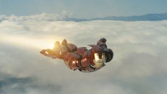 Another classic Marvel superhero flies onto the silver screen with Paramount Pictures� new release, IRON MAN. hoto courtesy of Paramount Pictures. � 2008 MVLFFLLC & Marvel Entertainment.