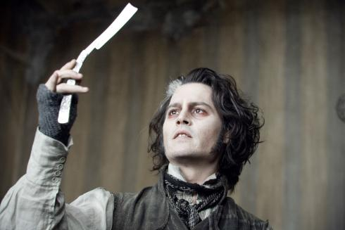Performance by an actor in a leading role, Johnny Depp as Sweeney Todd in Sweeney Todd The Demon Barber of Fleet Street