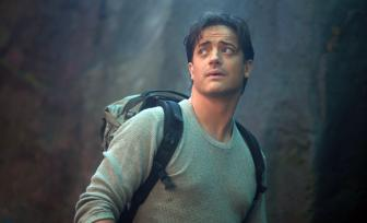 Brendan Fraser stars as Trevor in New Line Cinema release JOURNEY TO THE CENTER OF THE EARTH.  Photo Credit Sebastian Raymond New Line Cinema