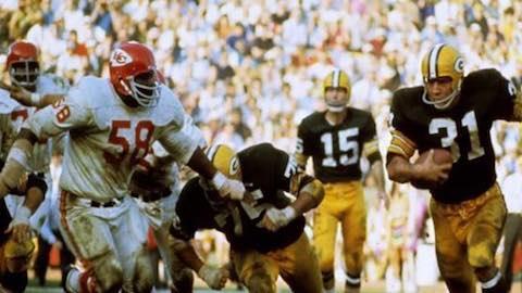 Super Bowl I: Green Bay Packers 35 Kansas City Chiefs 10
