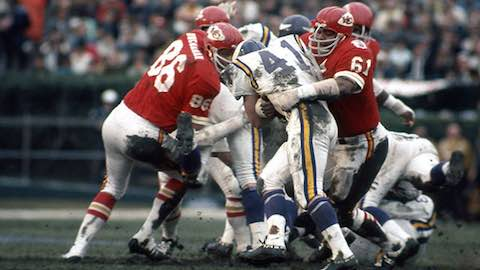 Super Bowl IV: Kansas City Chiefs 23 Minnesota Vikings 7 - MVP Chiefs QB Len Dawson